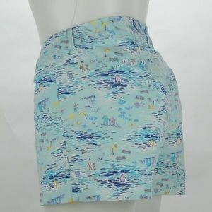 Old Navy Pixis Shorts Size 14 Sailboat Design